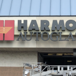 custom dimensional sign installation