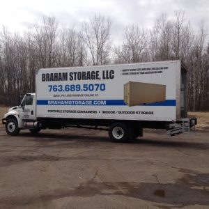 Eden Prairie Vehicle Wraps Braham Storage Side  300x300