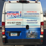 Minneapolis Vehicle Wraps Temp Pro Rear 1 150x150