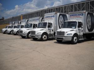 Commercial Fleet Vehicle Wraps