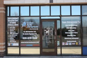 Minneapolis Office Signs Copy of Chiropractic Office Window Decals 300x200