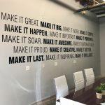 custom vinyl wall mural