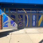 Andover Vinyl Signs Hayfield Community Schools Window Wrap 150x150